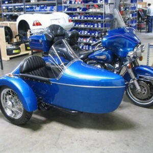 champion legend sidecar blue
