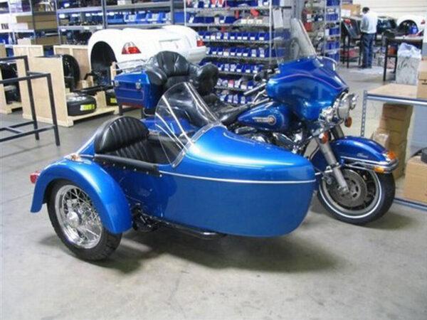 champion legend sidecar blue