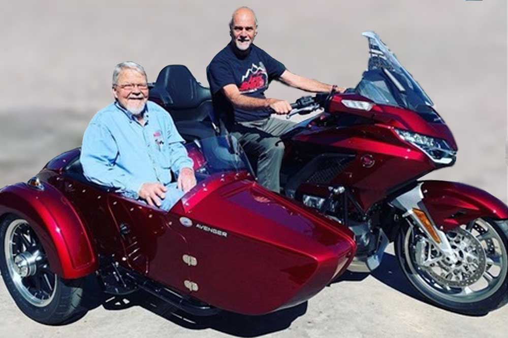 champion sidecars and reverse gears avenger honda gl1800 goldwing